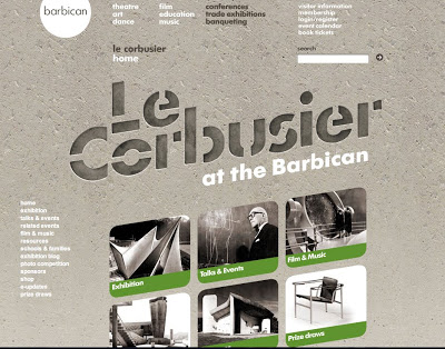 LE CORBUSIER AT THE BARBICAN
