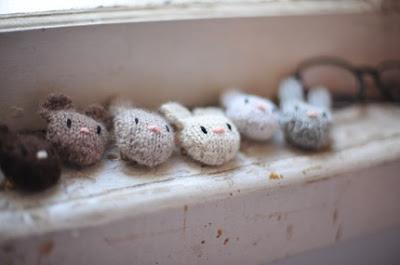 Cute rabbit brooch by Sarah McNeil