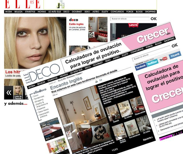 My house in ELLE DECO Spain…