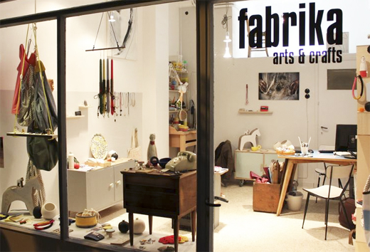 fabrika new shop/gallery in Greece