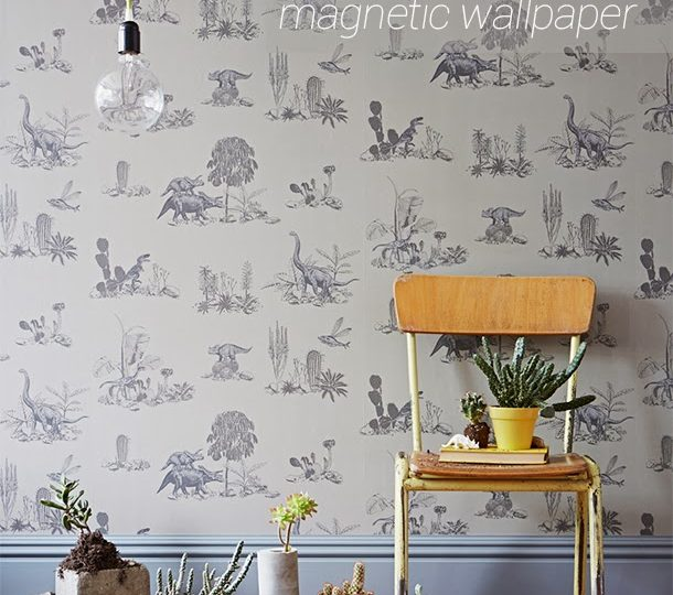 NEW MAGNETIC DINO WALLPAPER BY SIAN ZENG
