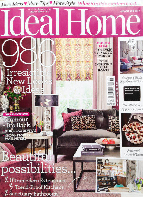 Ideal Home – October 2015