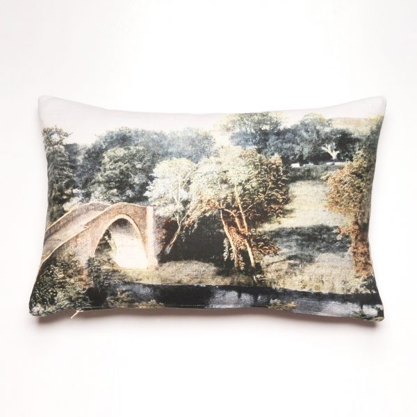 English bridge cushion