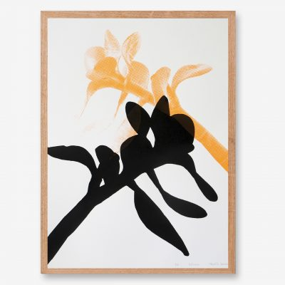 botanical_art_neon print