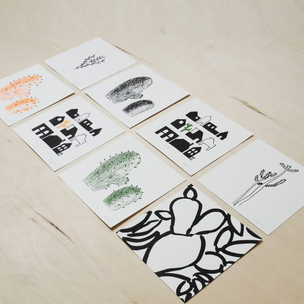 cactus prints, canarias