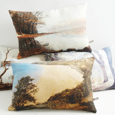 English romantic cushions