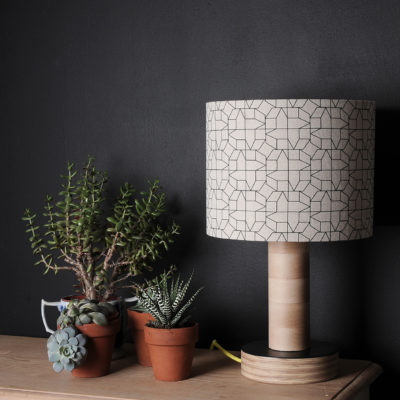 geometric lampshade