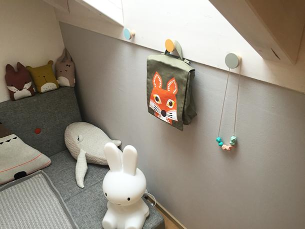 Wall hooks, nursery decor, kids interiors