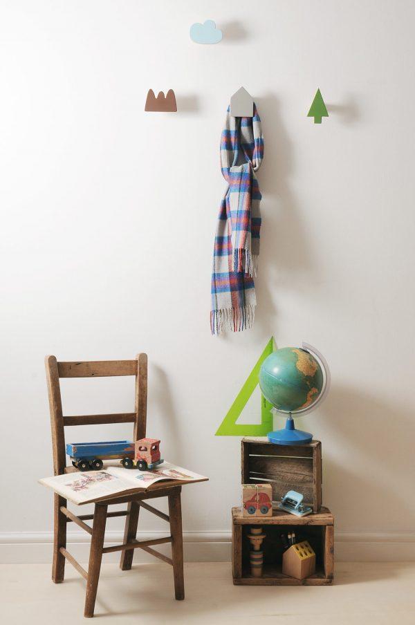 wall hooks, coat hangers